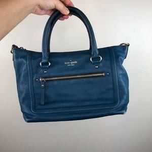 Kate spade blue Satchel handbag